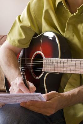 sangtekst skrivning